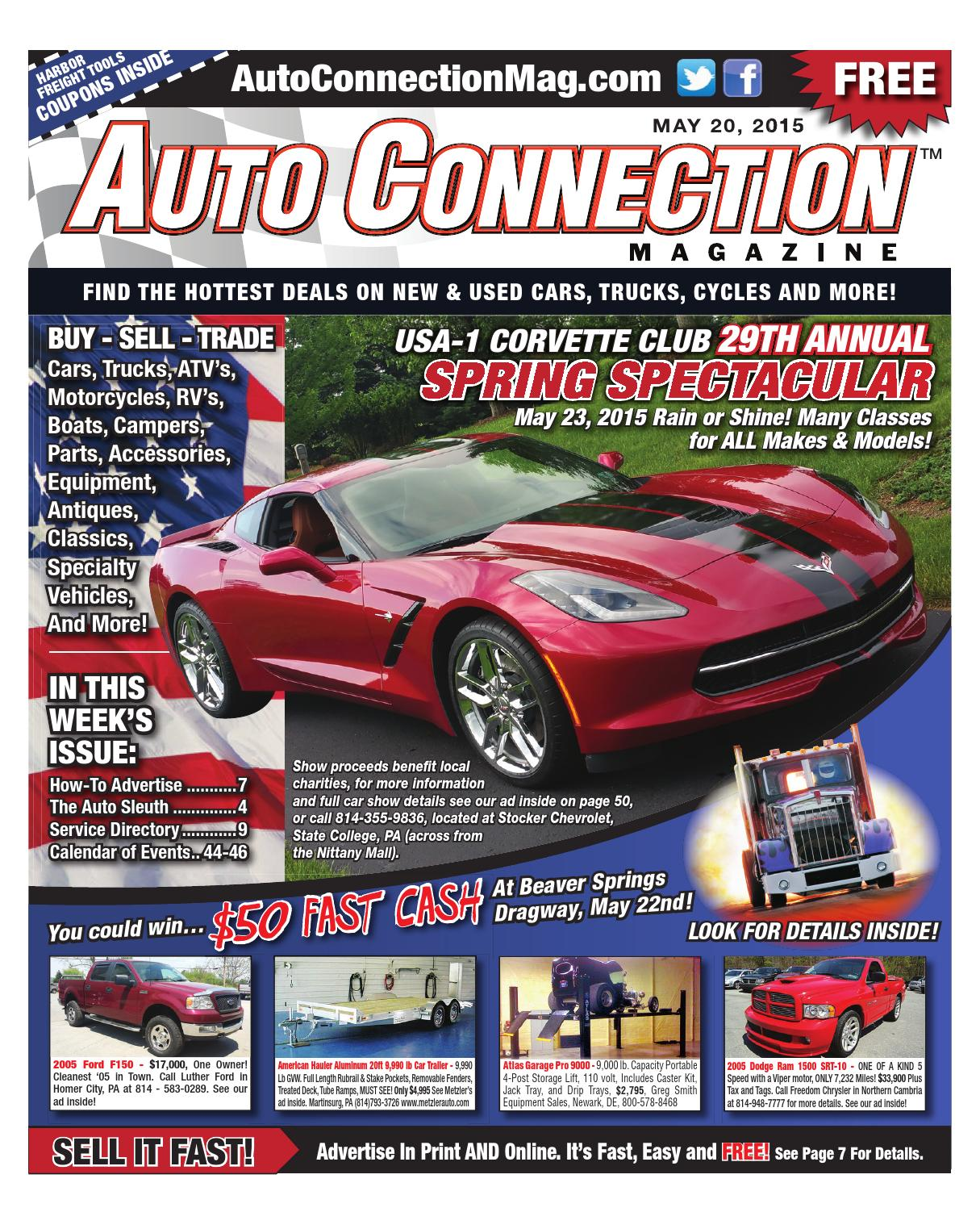 05 20 15 Auto Connection Magazine By Auto Connection Magazine Issuu