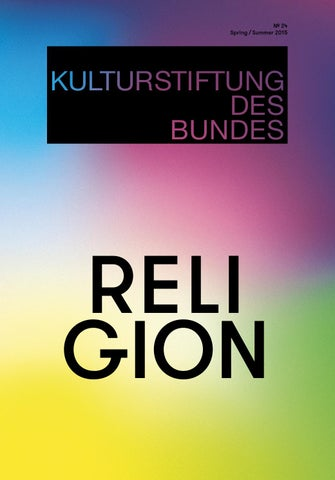 Magazine 24 Of The Federal Cultural Foundation Kulturstiftung Des