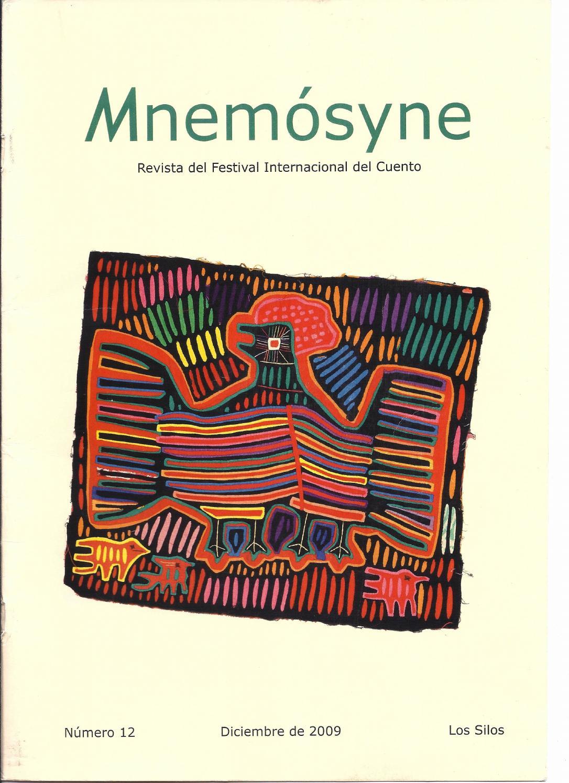 Mnemósyne nº 12 - 2009 by cuentoslossilos - issuu