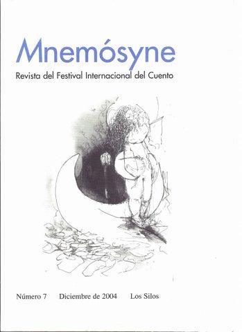Mnemósyne nº 7 - 2004 by cuentoslossilos - issuu