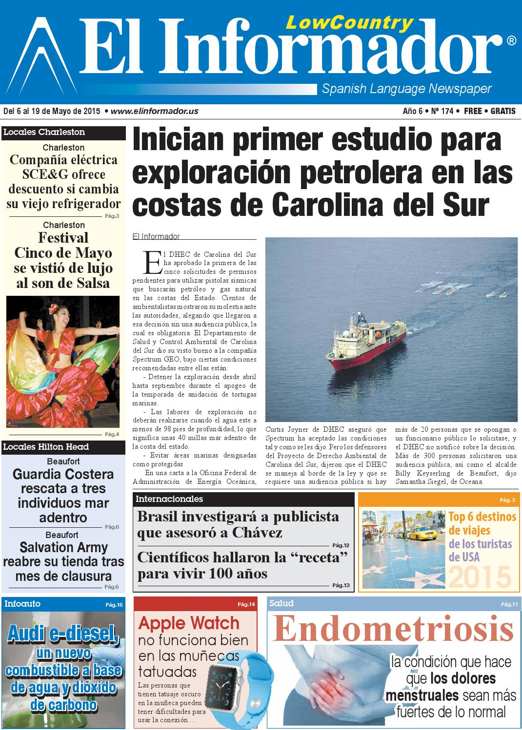 El Informador Newspaper 05/06/15 by El Informador Spanish Language ...