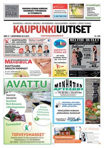 Kaupunkiuutiset 20.05.2015 by Kaupunkiuutiset - issuu b835177d4e