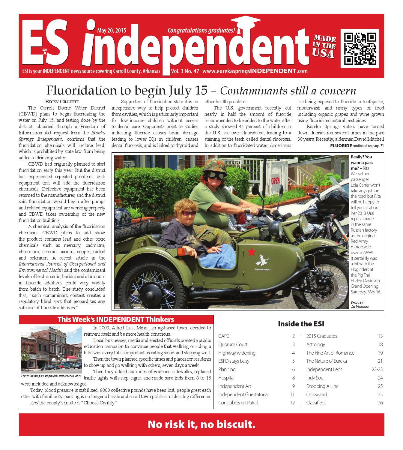 ES Independent Vol  3, No  47 by Eureka Springs Independent