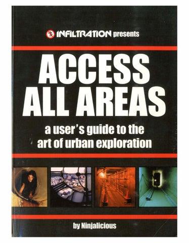 Access All Areas Ninjalicious Pdf