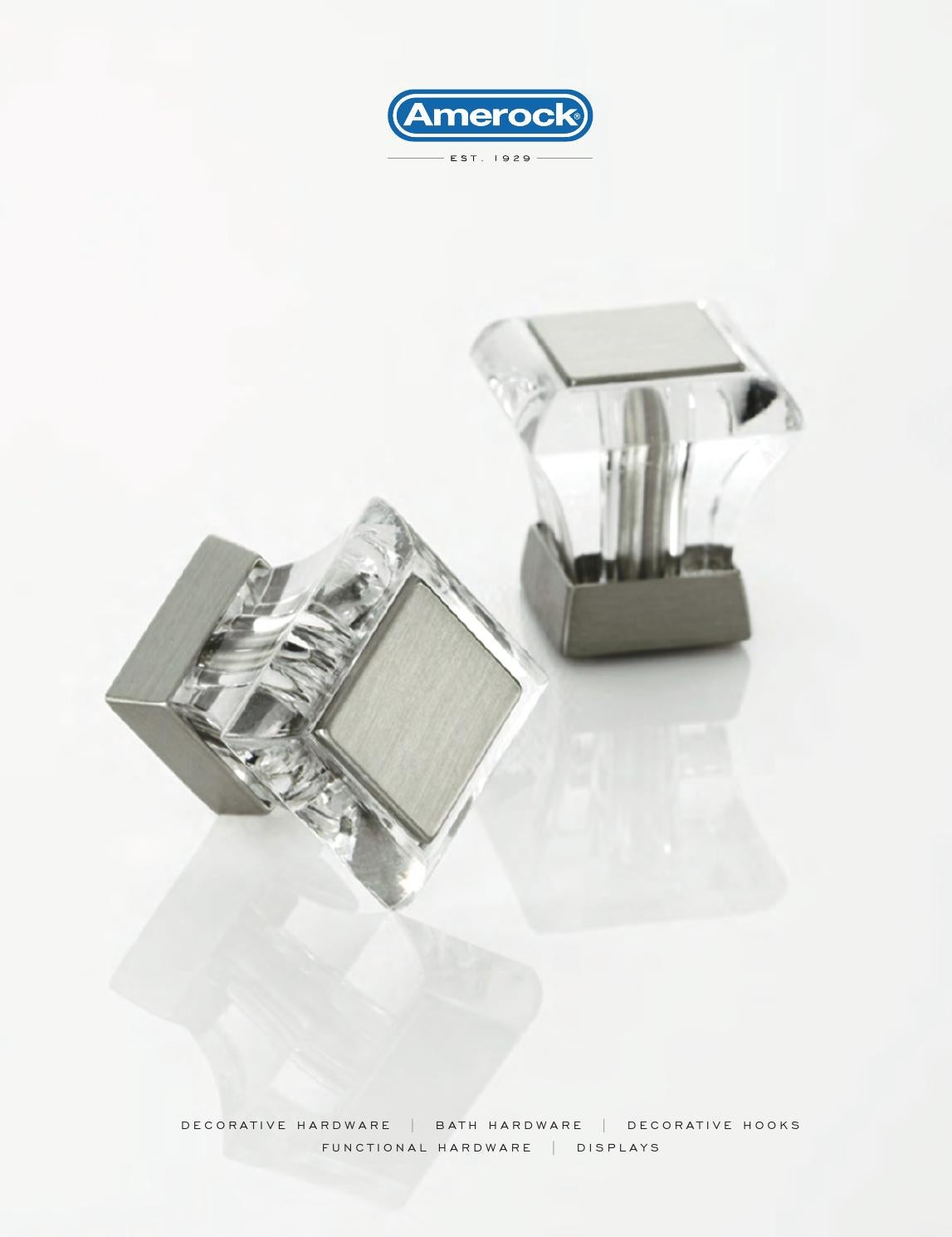 Amerock  Allison  Cabinet Pull  4-5//16 in L 1-1//4 in Brushed Chrome  1 pk