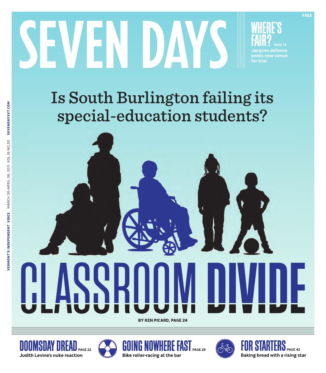 Seven Days, March 30, 2011 by Seven Days - issuu