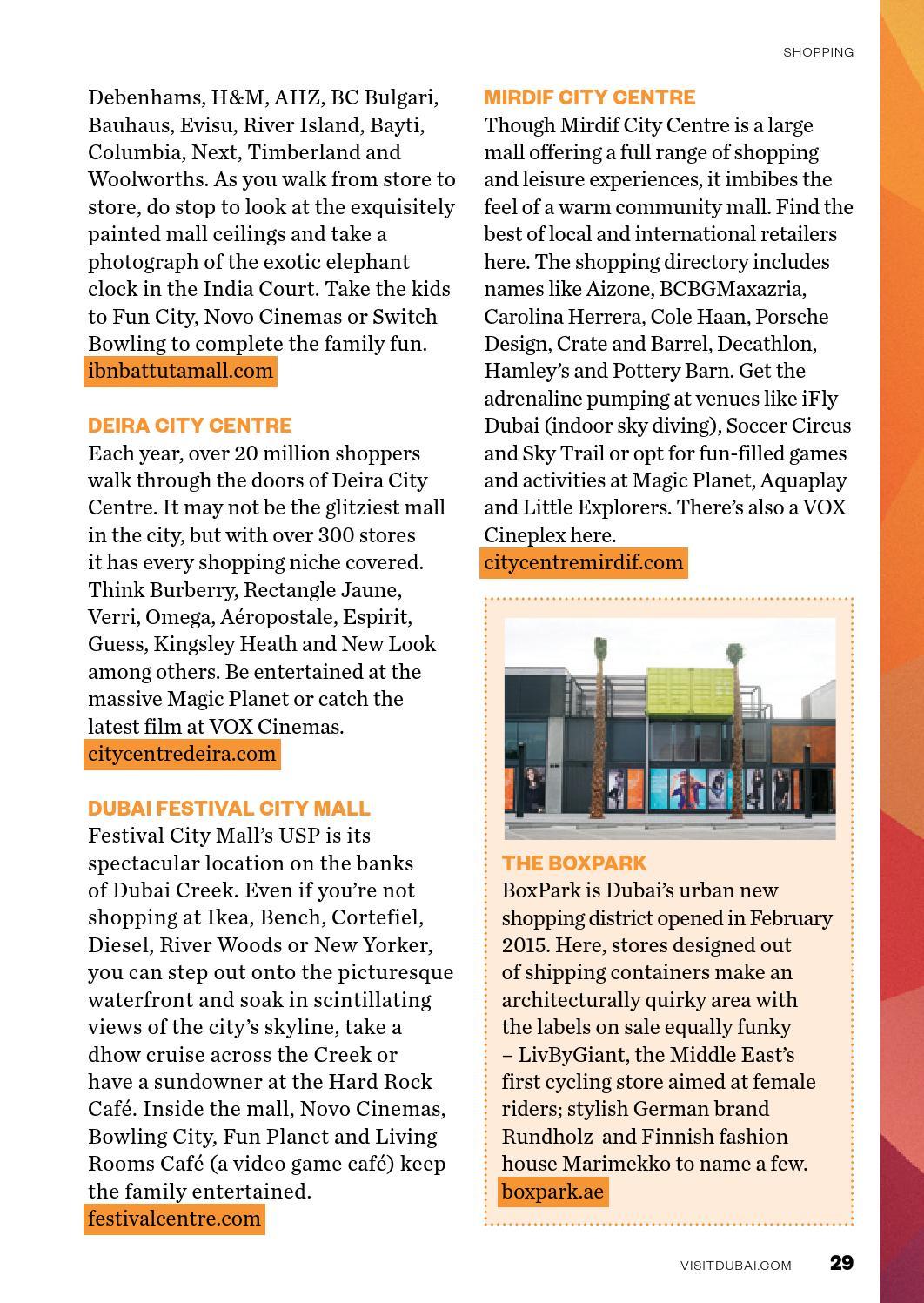 Dubai Pocket Guide 2015 by Dubai Tourism - issuu
