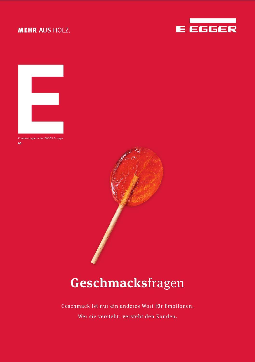 MORE 05 - Questions of Taste (DE) by Fritz EGGER GmbH & Co.OG - issuu