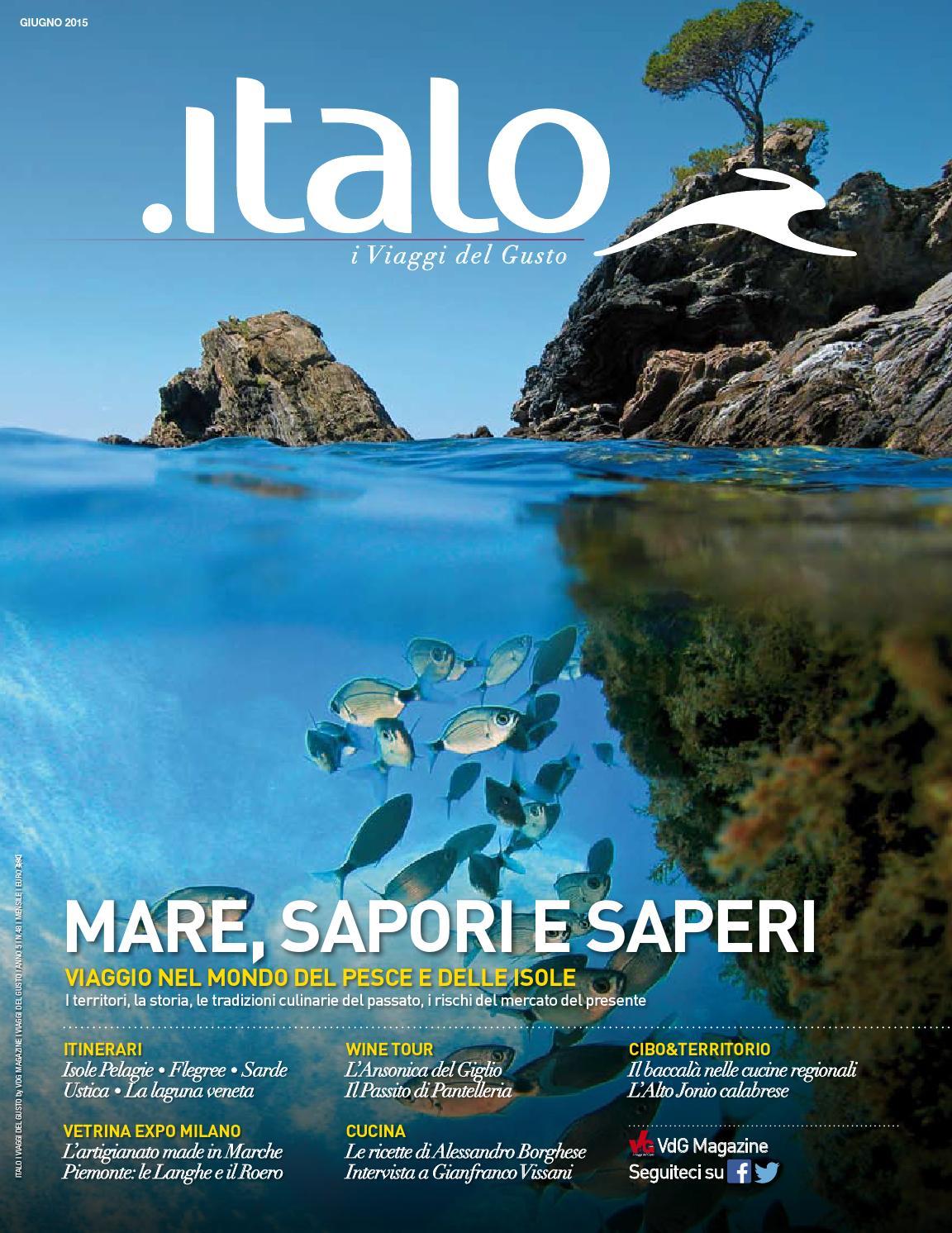 sports shoes 02a52 33db8 Italo i Viaggi del Gusto giugno 2015 by vdgmagazine - issuu