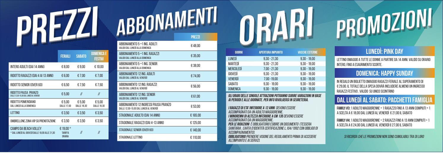Komodo castelfranco prezzi e orari piscina estiva by equipe sportiva srl ssd issuu - Piscina azzurra scandiano ...