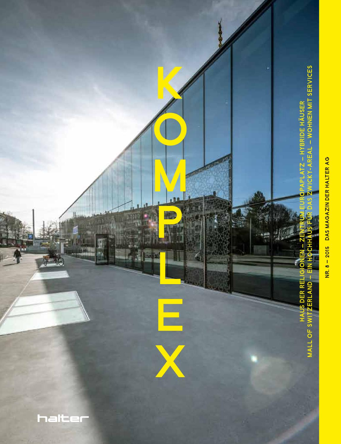 Komplex Nr. 8 2015 By Halter AG   Issuu