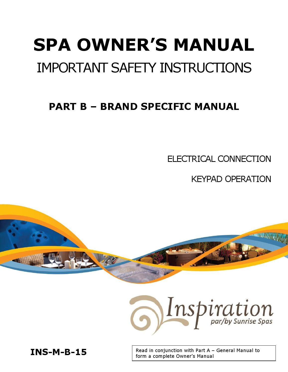 Spa Owners Manual Part B By Groupe Sima Issuu Circuit Board Wiring Diagram Free Picture