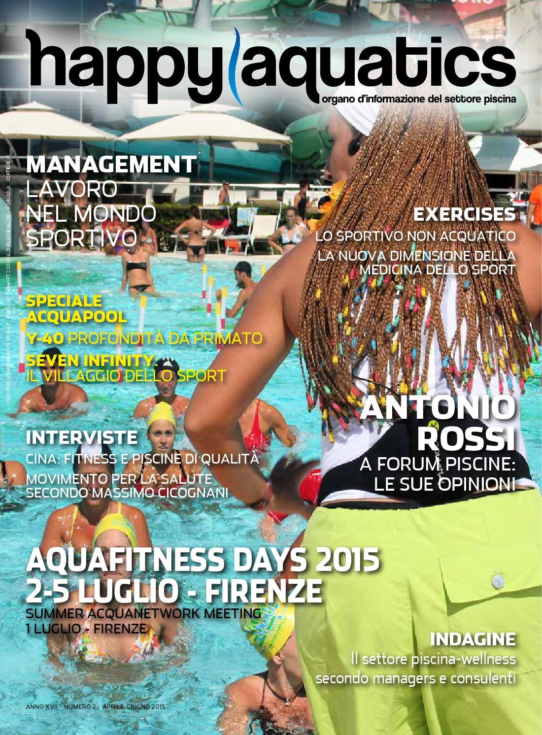 3116a0da2204 Happy Aquatics n.2 anno 2015 - ITA by Happy Aquatics & Wellness - issuu