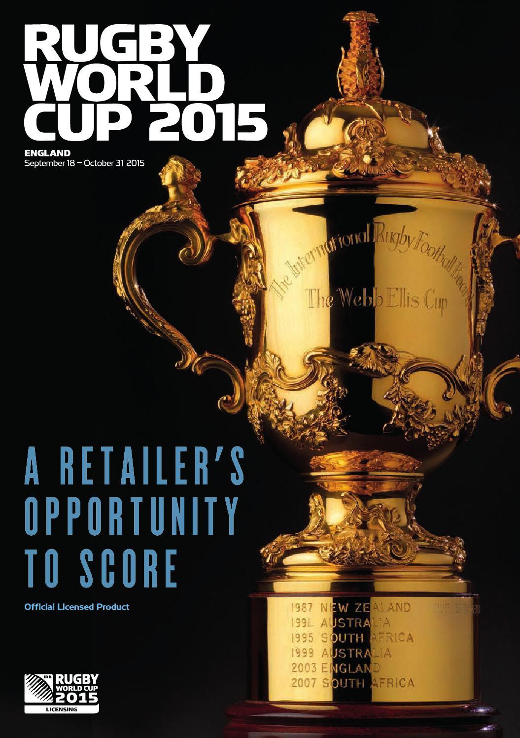 Rugby World Cup 2015 Shaun the Sheep Lanyard