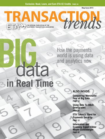 Transaction Trends May June 2015