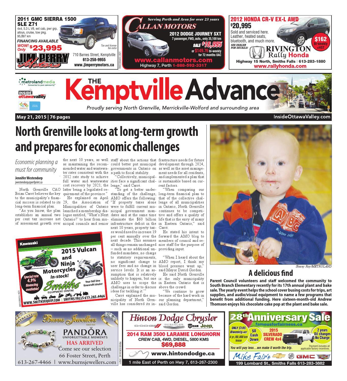 ba316d5403f1f Kemptville052115 by Metroland East - Kemptville Advance - issuu