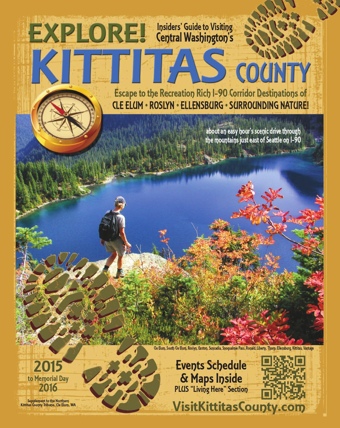 2015 EXPLORE! Kittitas County Visitors Guide by Northern Kittitas County Trib