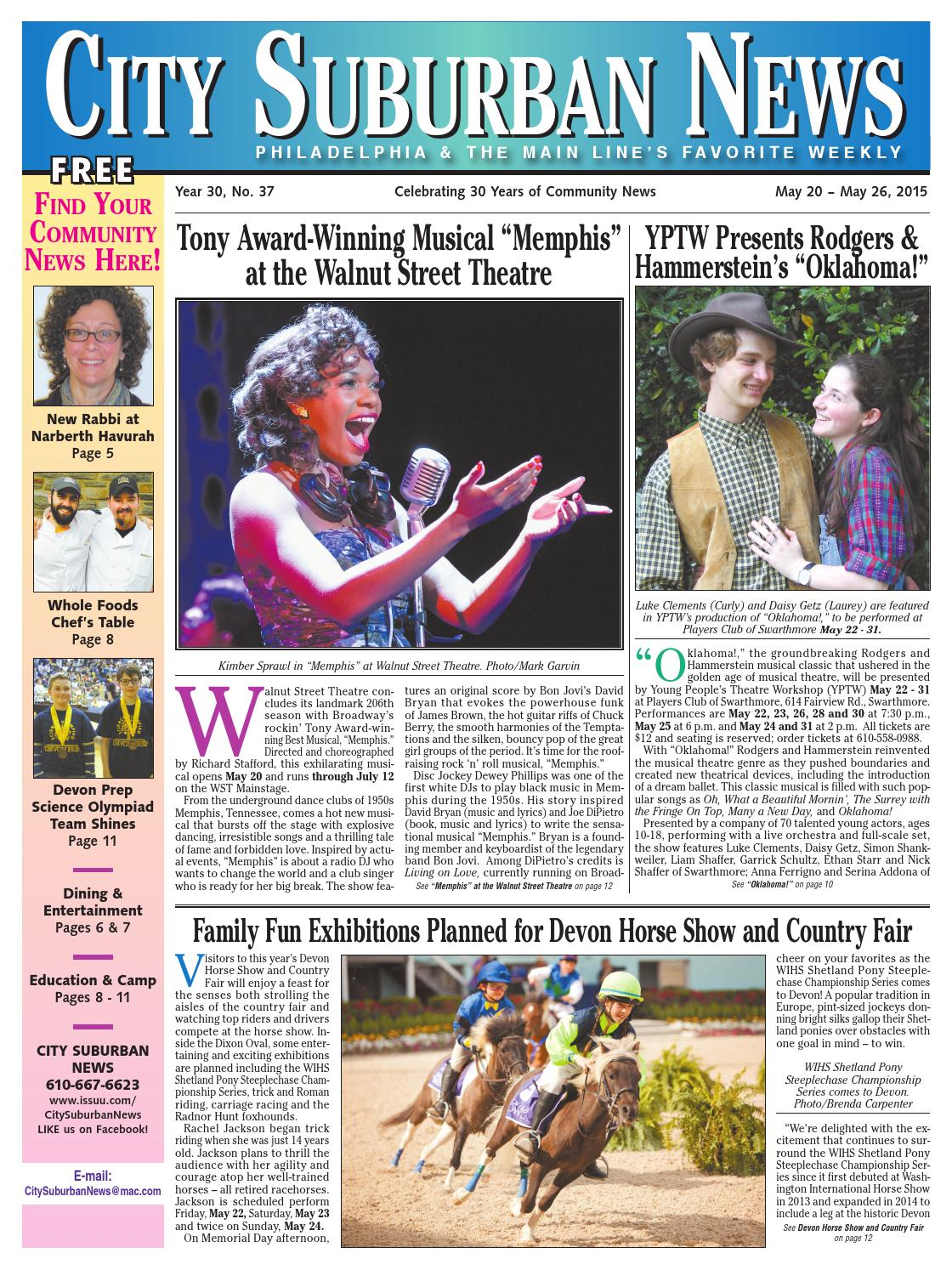 City suburban news 52015 issue by city suburban news issuu fandeluxe Gallery