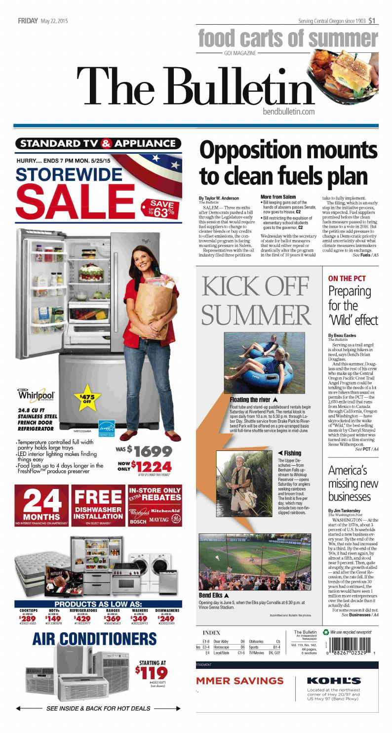 Bulletin Daily Paper 05-22-15 by Western Communications, Inc ...