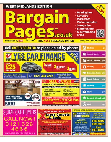 3dacb46a8ac32 Bargain Pages West Midlands
