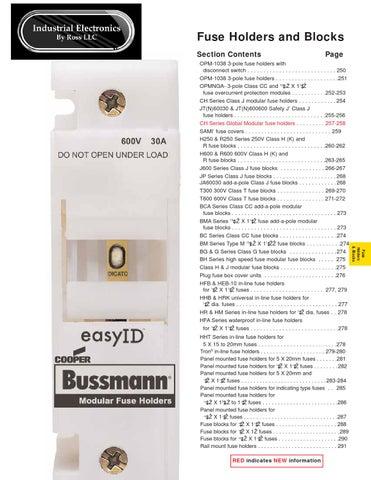 Cooper Bussmann T60400-1C Fuseholder
