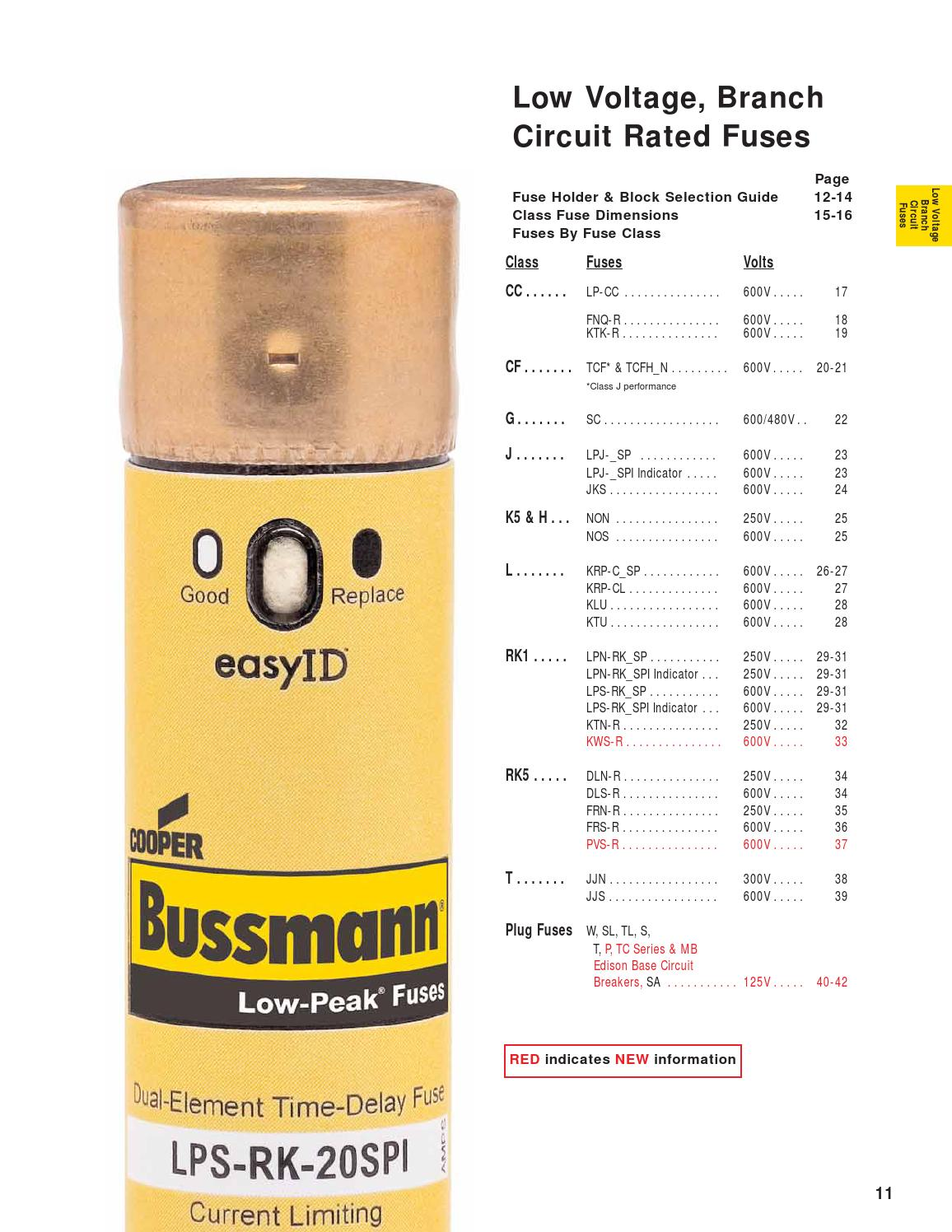 Bussmann TCF30RN Class CF Fuse 30 Amp 600 Volt Time Delay