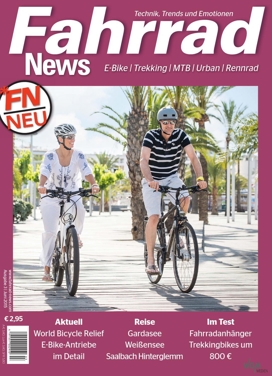 Fahrrad News 03.2015 by WOM Medien - issuu