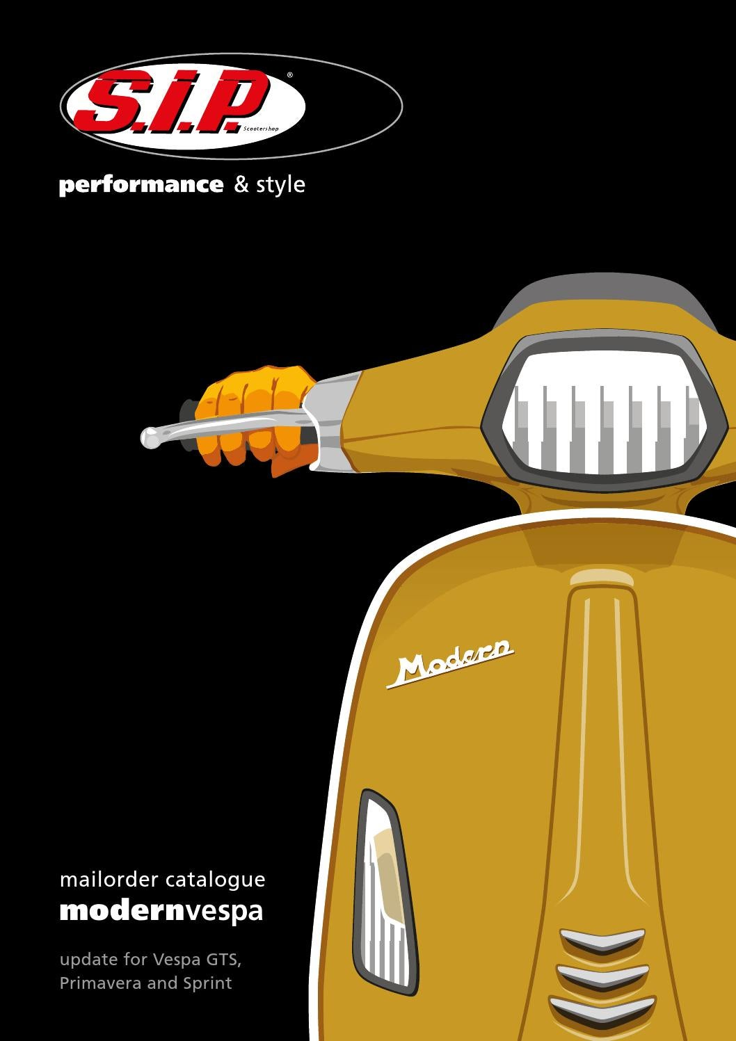 2301287c5f Modern Vespa Catalogue SIP Scootershop 2017 2018 by SIP Scootershop GmbH -  issuu