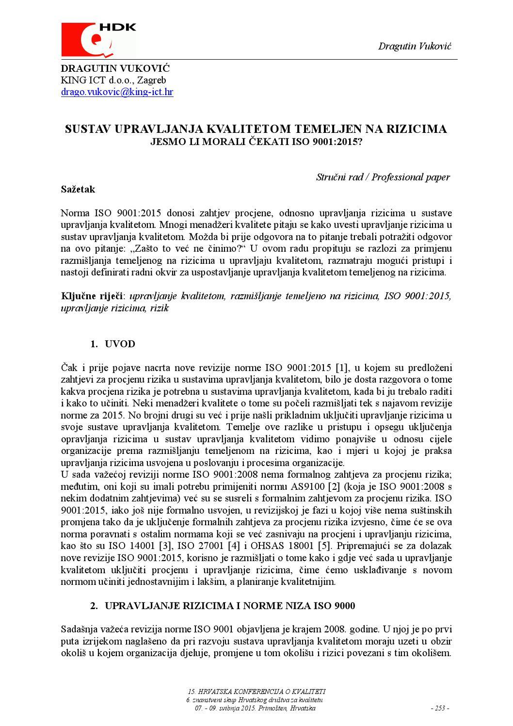 Vukovic by kvaliteta net - issuu
