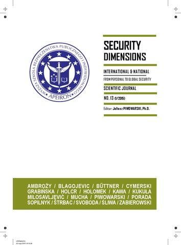 SD 13 by Security Dimensions - issuu