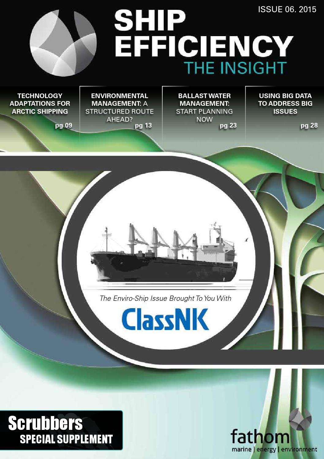 Big Ships Engine Rooms: Ship Efficiency: The Insight Issue #06 By Fathom Maritime