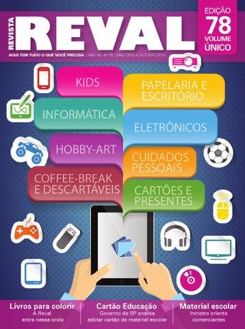 f7957d03ac Revista Reval 78 - Parte 01 by Reval Atacado de Papelaria Ltda. - issuu
