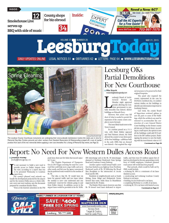 d188ca21aa Leesburg Today 5 21 15 by InsideNoVa - issuu