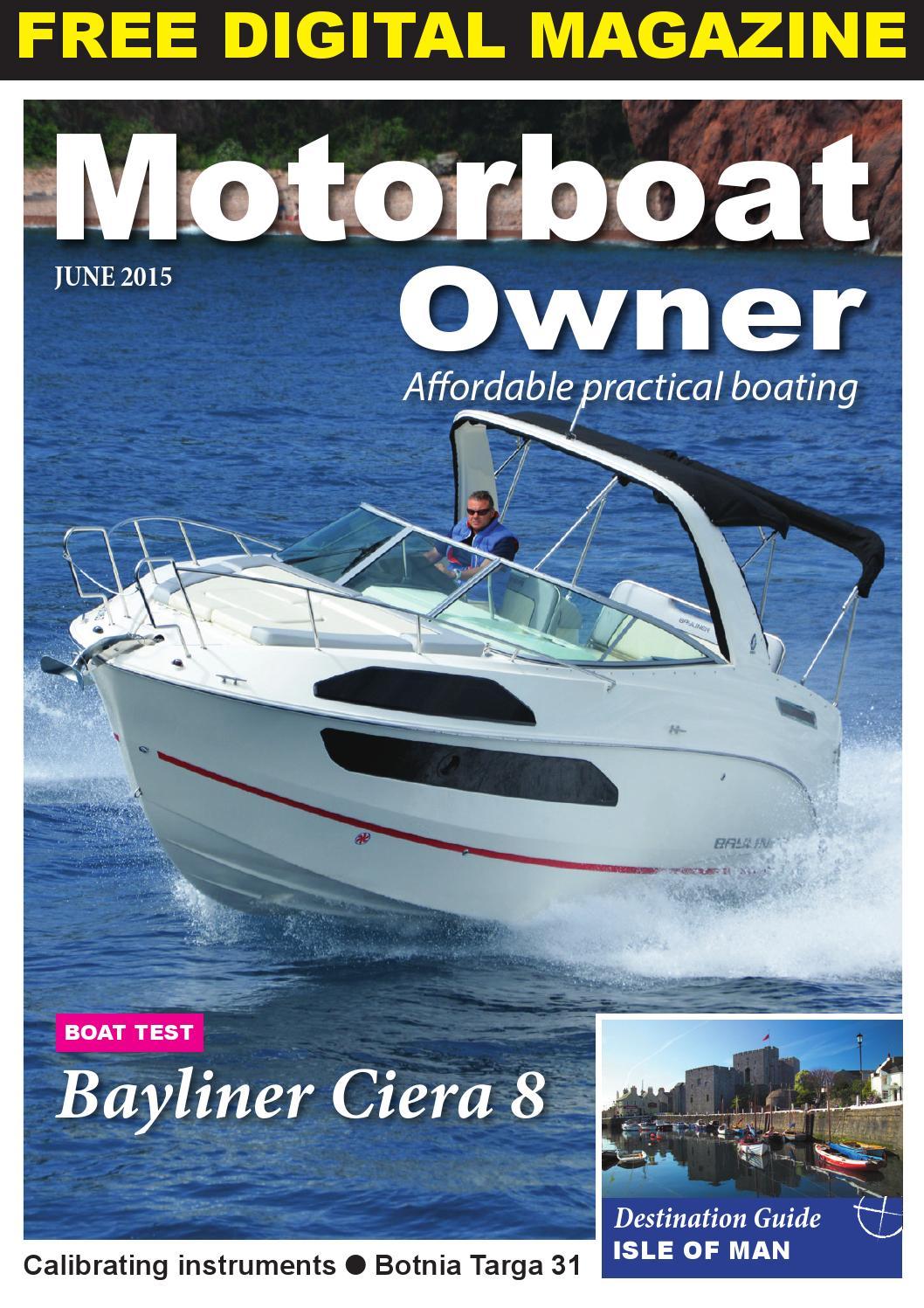 Motorboat Owner June 2015 By Digital Marine Media Ltd Issuu Sea Ray Boat Wiring Diagram Inverter