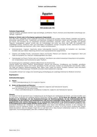 Dhl einfuhr und zollvorschriften 032014 by zappel - issuu