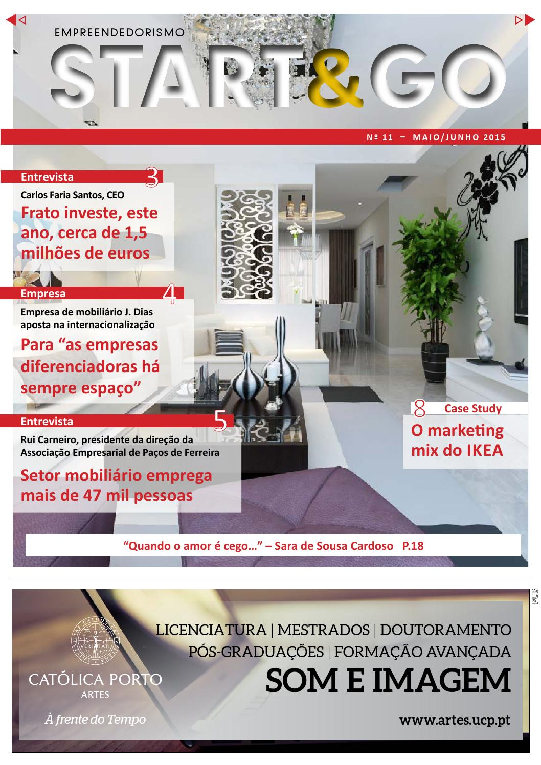 Start go by vida econ mica issuu for F cardoso mobiliario
