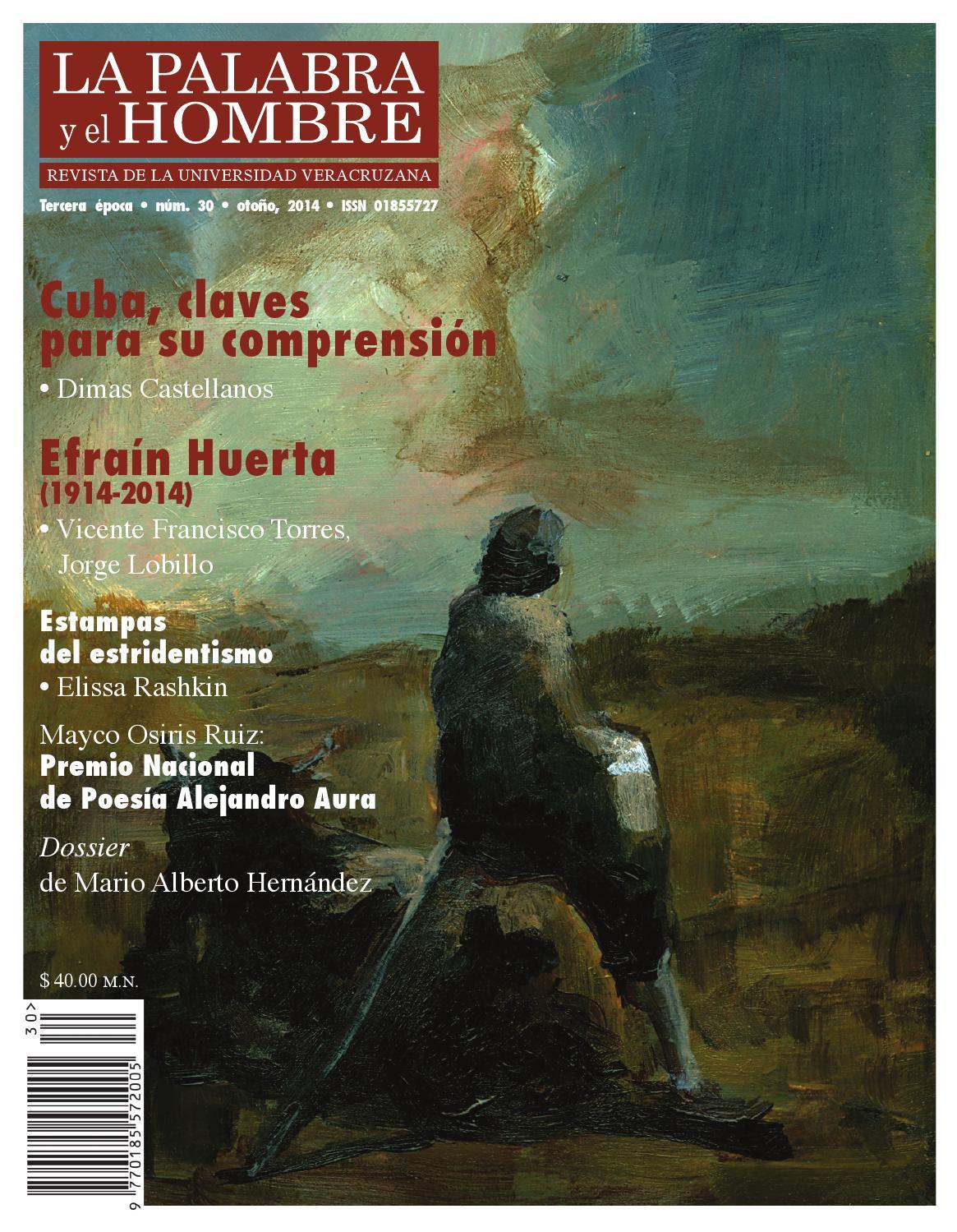 La Palabra y el Hombre, núm. 30 by Revista \