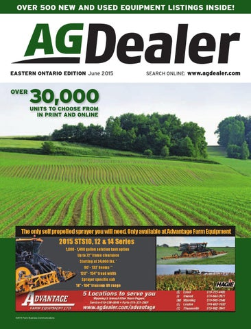 AGDealer Eastern Ontario Edition, June 2015 by Farm Business