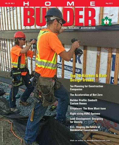 May/June 2015   Home Builder Magazine Canada by Work4