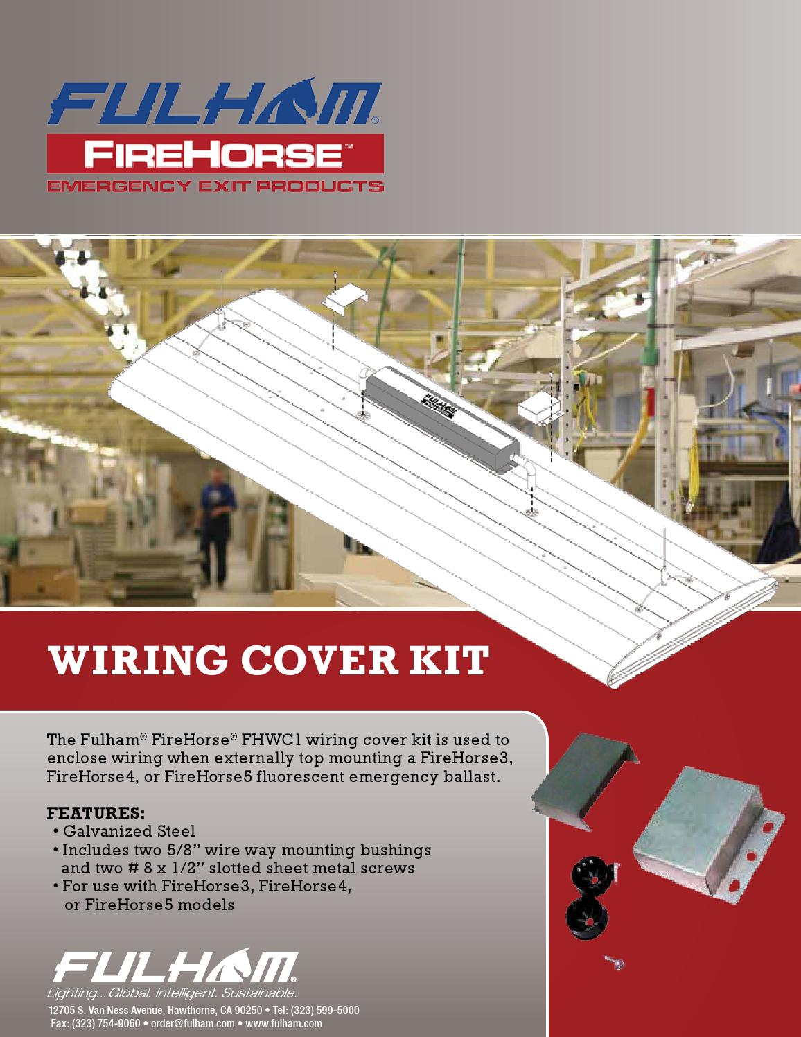 firehorse wiring cover kit by fulham by fulham co inc. Black Bedroom Furniture Sets. Home Design Ideas