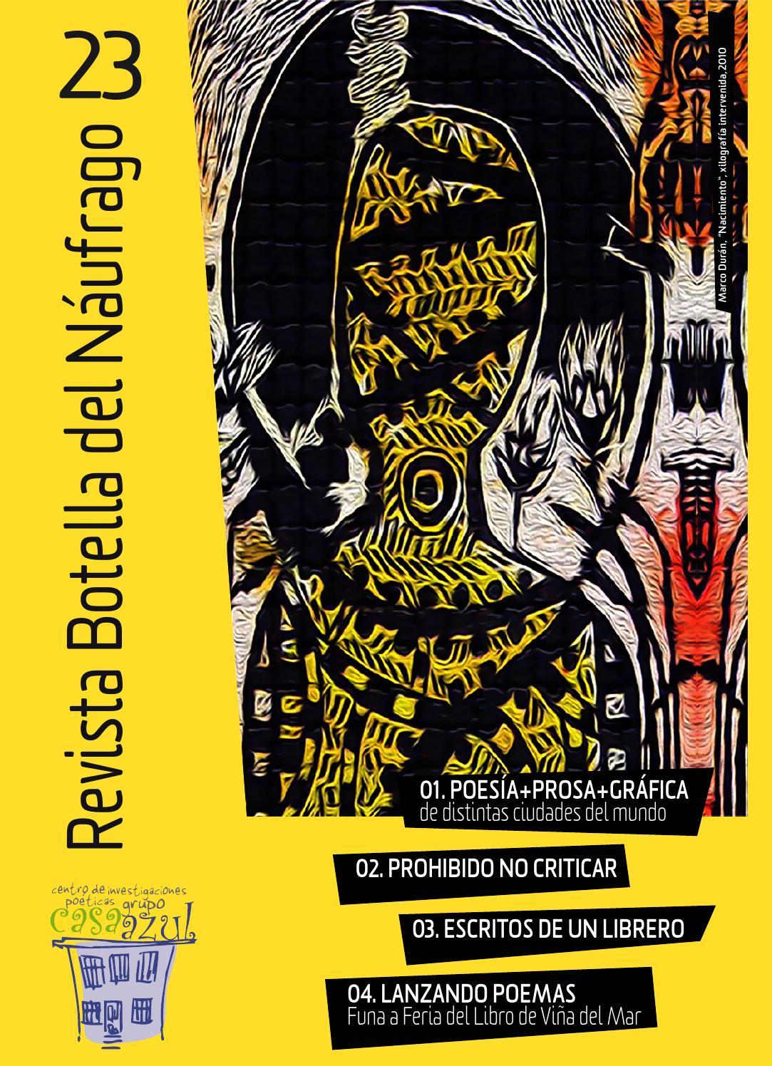 Revista Botella del Náufrago N°23 by Grupo Casa Azul - issuu