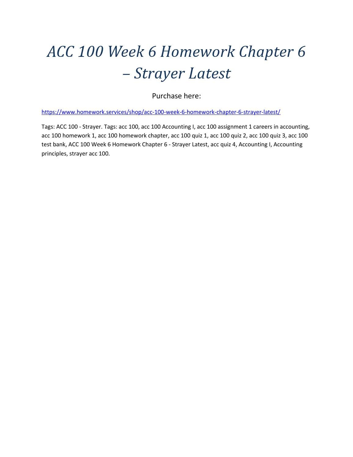 Acc 100 chapter 3