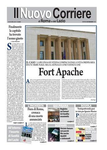 Negozio Lampadari Piazza Zama Roma.Il Nuovo Corriere Di Roma E Del Lazio Martedi 26 Maggio