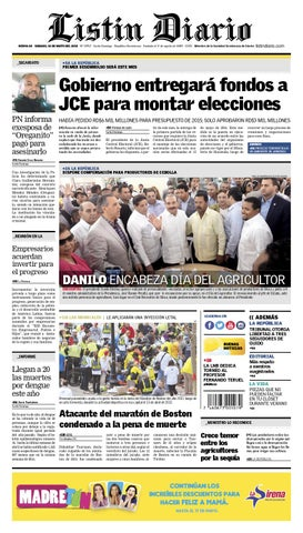 LD 2015-05-16 by Listín Diario - issuu e1f6e6b7228e8