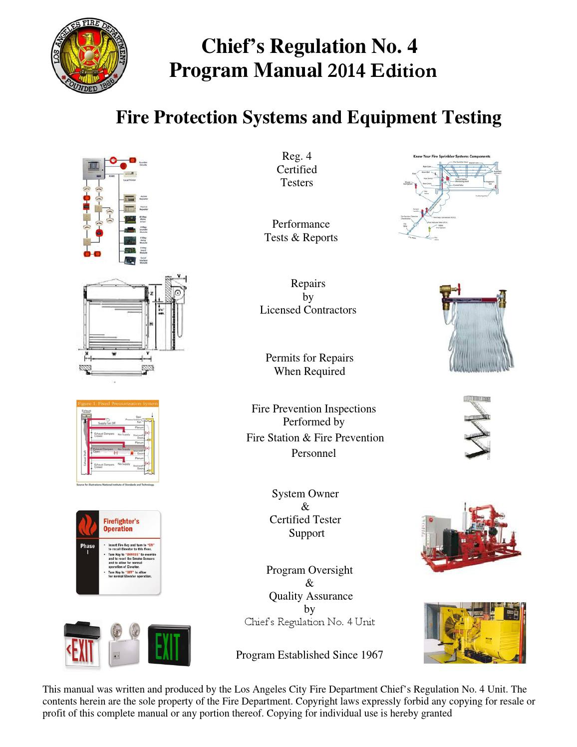 LAFD Chief's Regulation No 4 Program Manual 2014 by Los Angeles Fire  Department - issuu