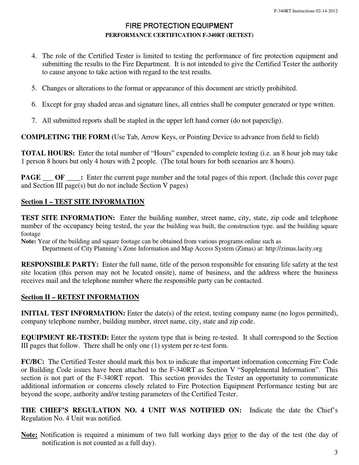 LAFD Chief's Regulation No 4 Program Manual 2014 by Los