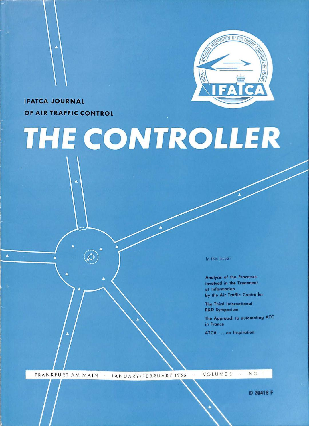 IFATCA The Controller - January 1966 by IFATCA - issuu
