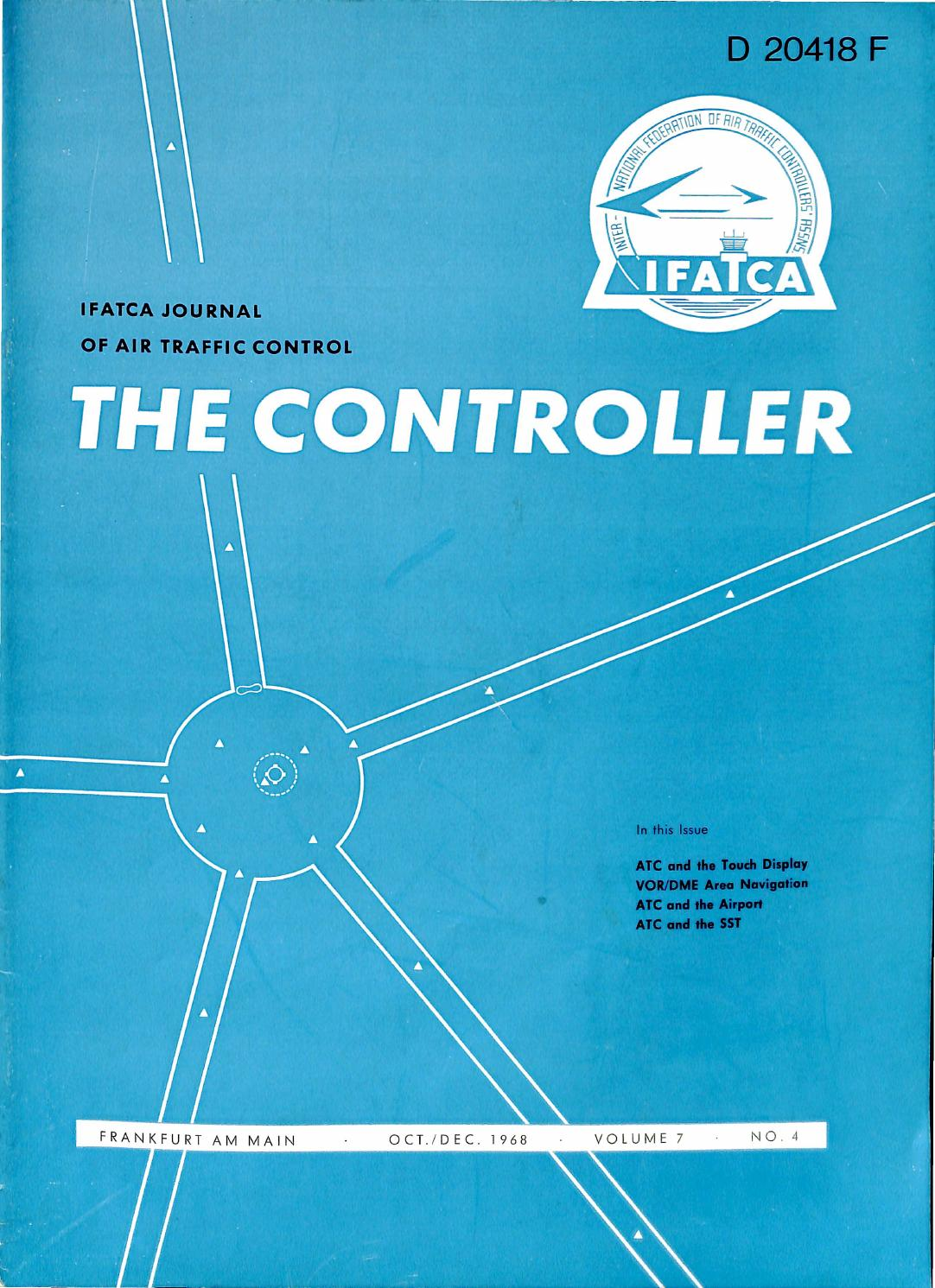 Ifatca The Controller October December 1968 By Issuu Novel Loudspeaker Coupling Circuit Diagram Tradeoficcom