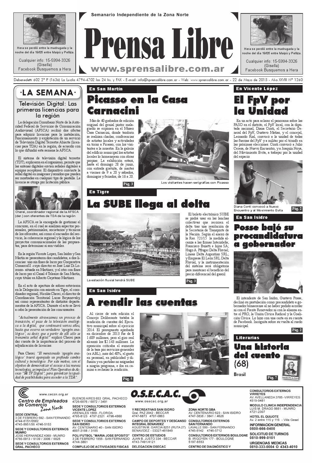Edición 1260 by Semanario Prensa Libre - issuu