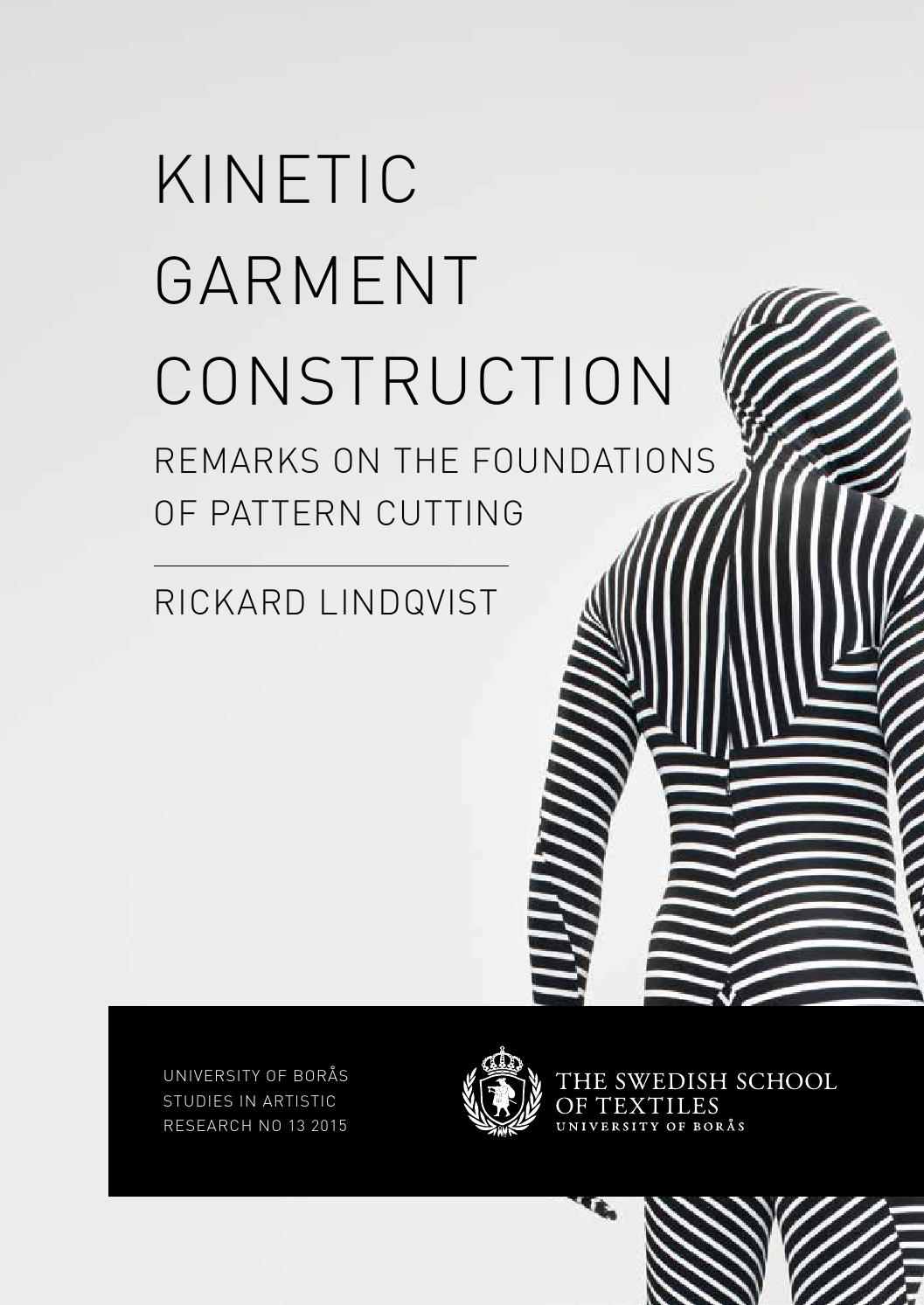 Kinetic Garment Construction By Rickard Lindqvist Issuu